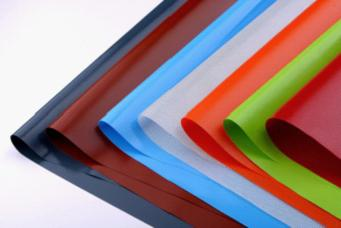 Silicone coated glass fabrics