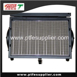 PTFE coated fiberglass grill mesh for baking crispness, pizza in oven, BBQ grill