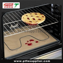 PTFE Coated Fiberglass Heavy Duty Non-stick BBQ Grill Mat