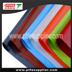 Silicone rubber coated fiberglass fabric