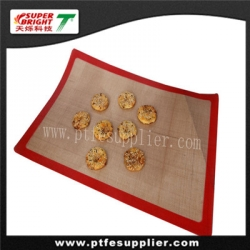 size and logo customizable silicone baking liner / sheet used in baking