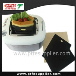 PTFE Reusable Oven Bag For Bread Size Toaster Bag Sandwich Pocket