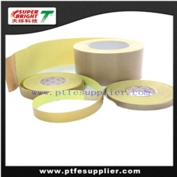 PTFE Coated Glass Fabric Silicone PSA Tape