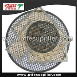 ptfe fiberglass non-stick bbq mesh/grill/oven cooking mesh