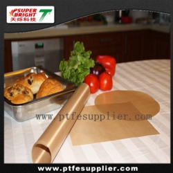 PTFE fiberglass non-stick resuable frying pan liner