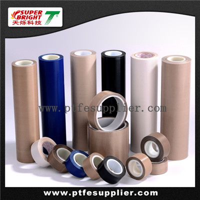 PTFE Coated Fiberglass Adhesives Tape