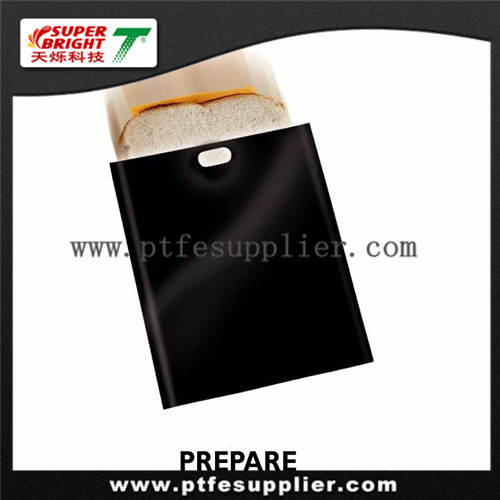 PTFE coated fiberglass fabric reusable oven microwave /cooking roasting bag