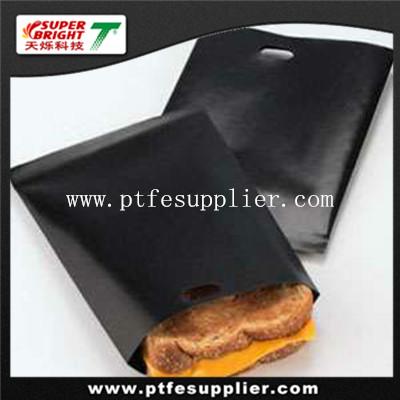 PTFE coated fiberglass reusable japanese fish grill bags