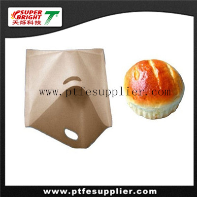 PTFE reusable sandwich bag used in portable microwave oven
