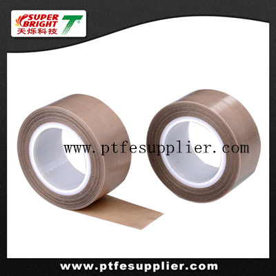 Premium PTFE Coated Fiberglass Tape-  Acrylic Adhesive Backing