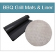 No Sticky PTFE Fireproof BBQ Grill Mats