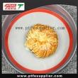 BPA Free Fiberglass Heat Resistant Round Silicone Baking Mat
